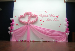 Balloon Decorations Service Malaysia Romantic Excitement