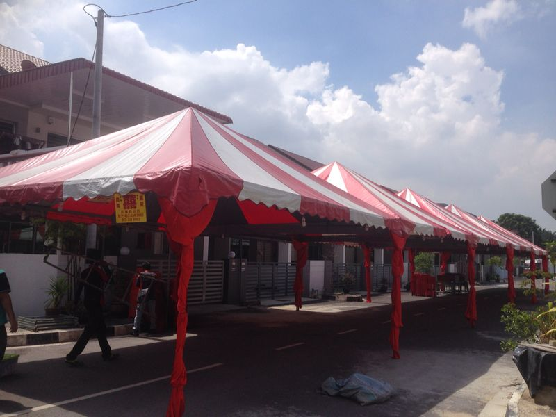 Pyramid canopy tents come with many prime colors. The most common size is 20 feet x 20 feet per unit but we do offer other sizes. & Pyramid Canopy Rental Malaysia | Fast Effective Fair Services